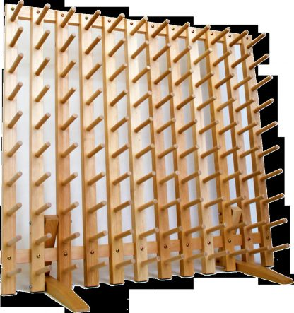 SAORI YARN SHELF- Holds 132 or 252 cones